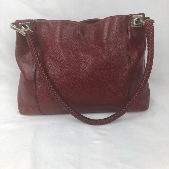 056f8aa2ef70 Brighton Handbags - Brighton red hobo bag with braided handle